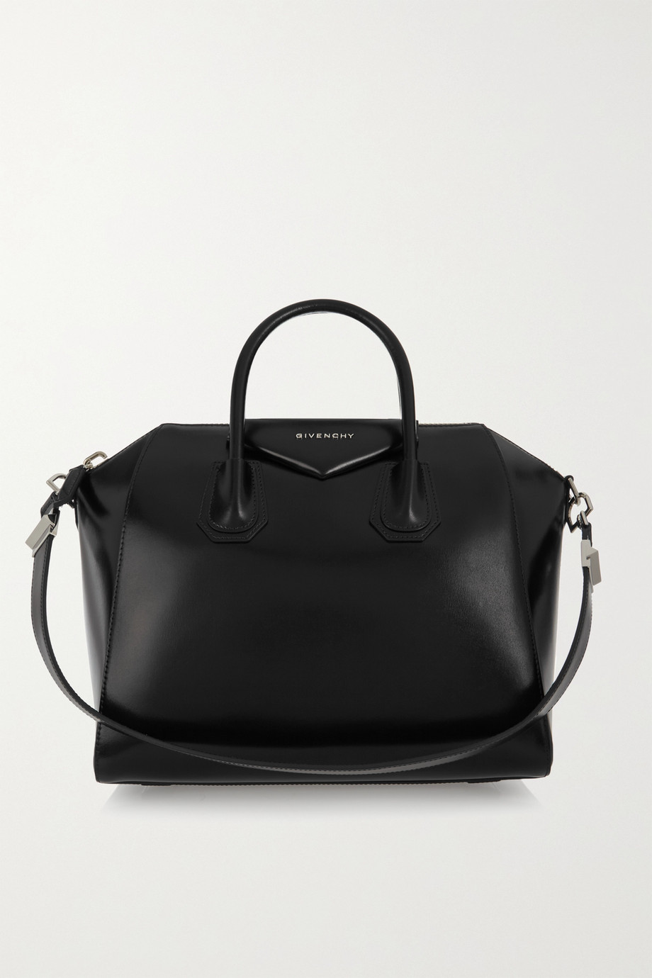 지방시 Givenchy Antigona medium leather tote,Black