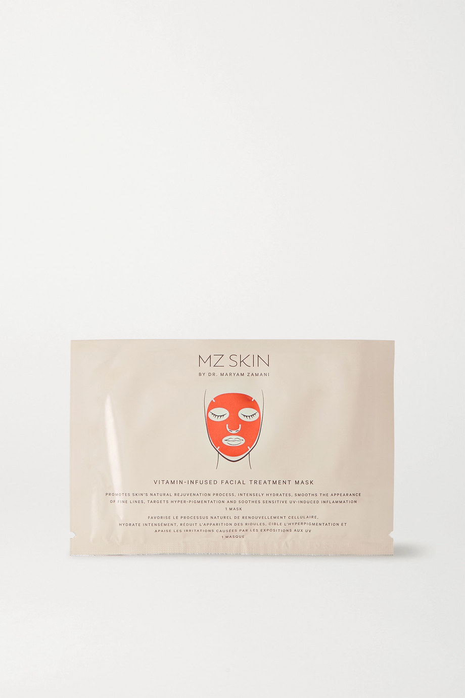 MZ SKIN Vitamin-Infused Facial Treatment Mask x 5