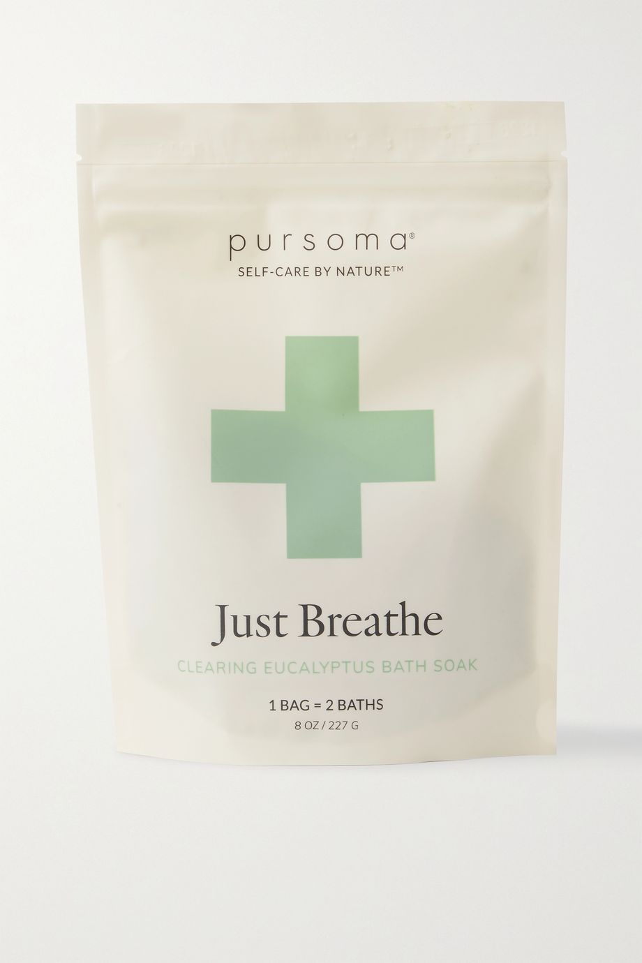 PURSOMA Just Breathe Ritual Calming & Clearing Eucalyptus Bath, 227g