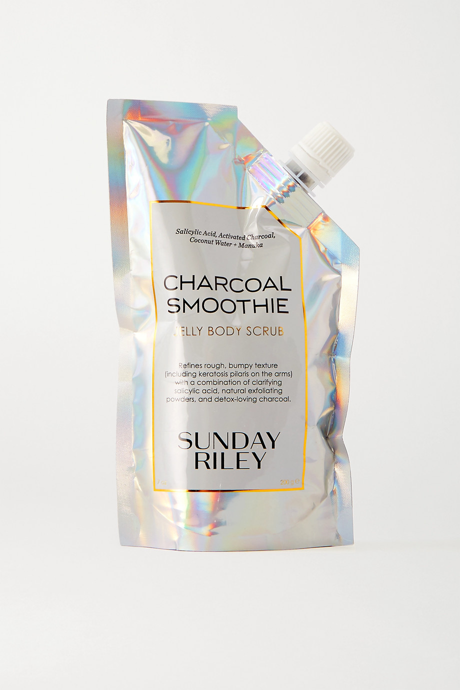 SUNDAY RILEY Charcoal Smoothie Jelly Body Scrub, 200g