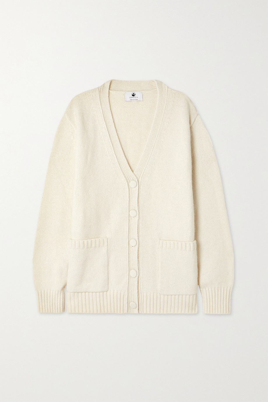 CORDOVA Oversized knitted cardigan