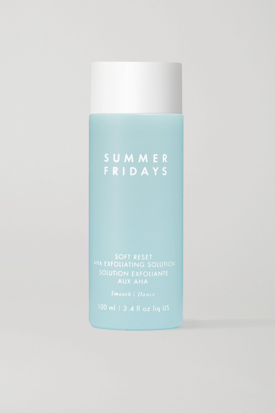 SUMMER FRIDAYS Soft Reset AHA Exfoliating Solution, 100ml