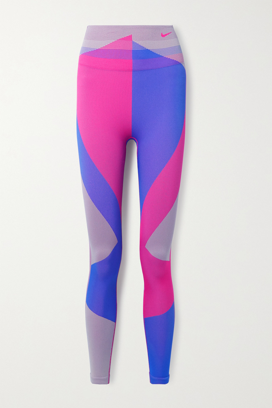 NIKE Icon Clash color-block Dri-FIT stretch-knit leggings