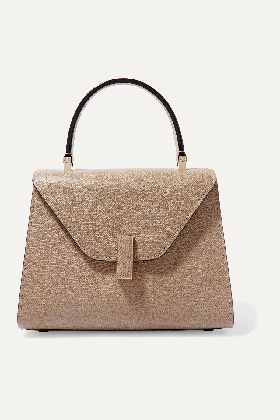 VALEXTRA Iside mini textured-leather tote