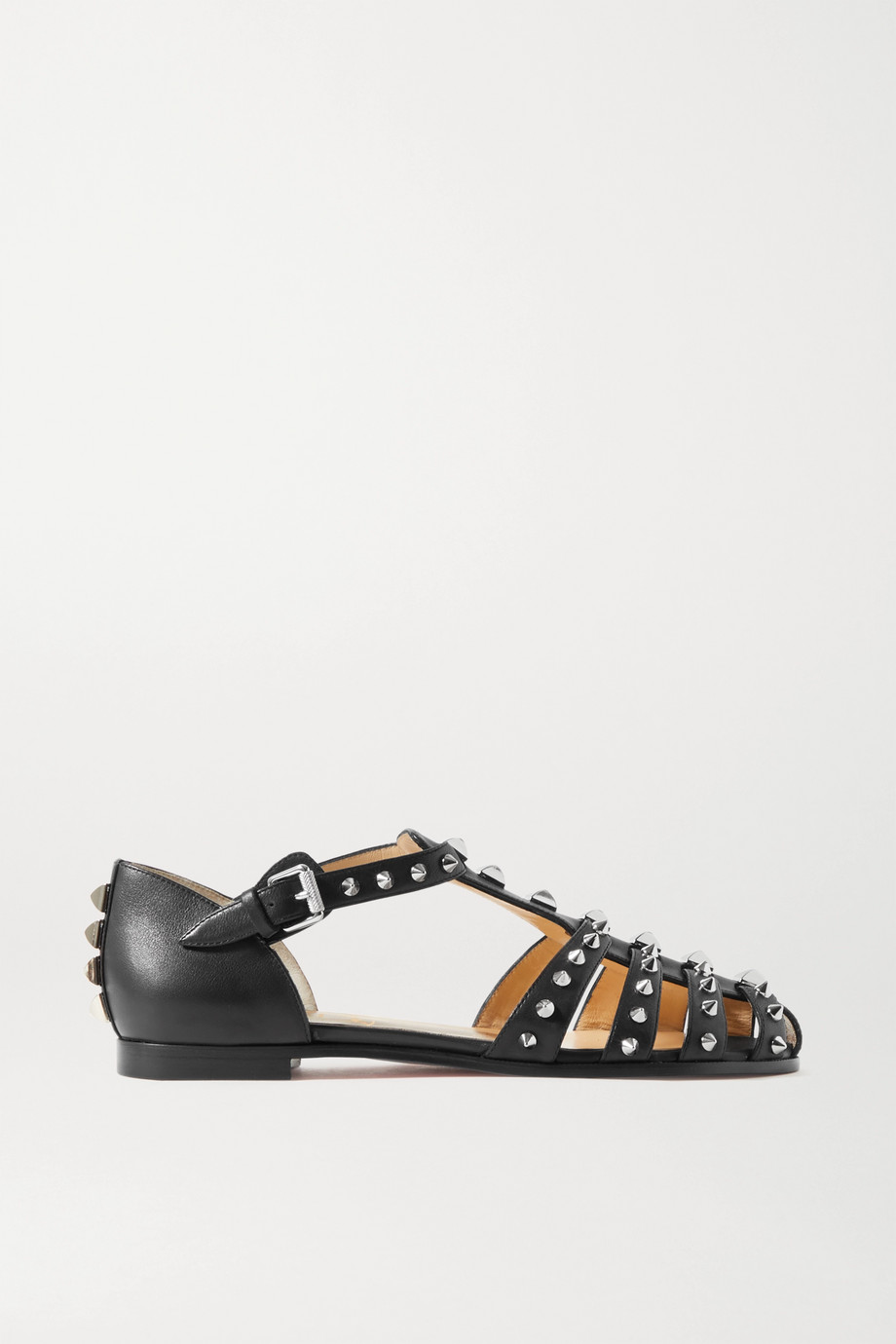 CHRISTIAN LOUBOUTIN LoubiClou studded leather sandals