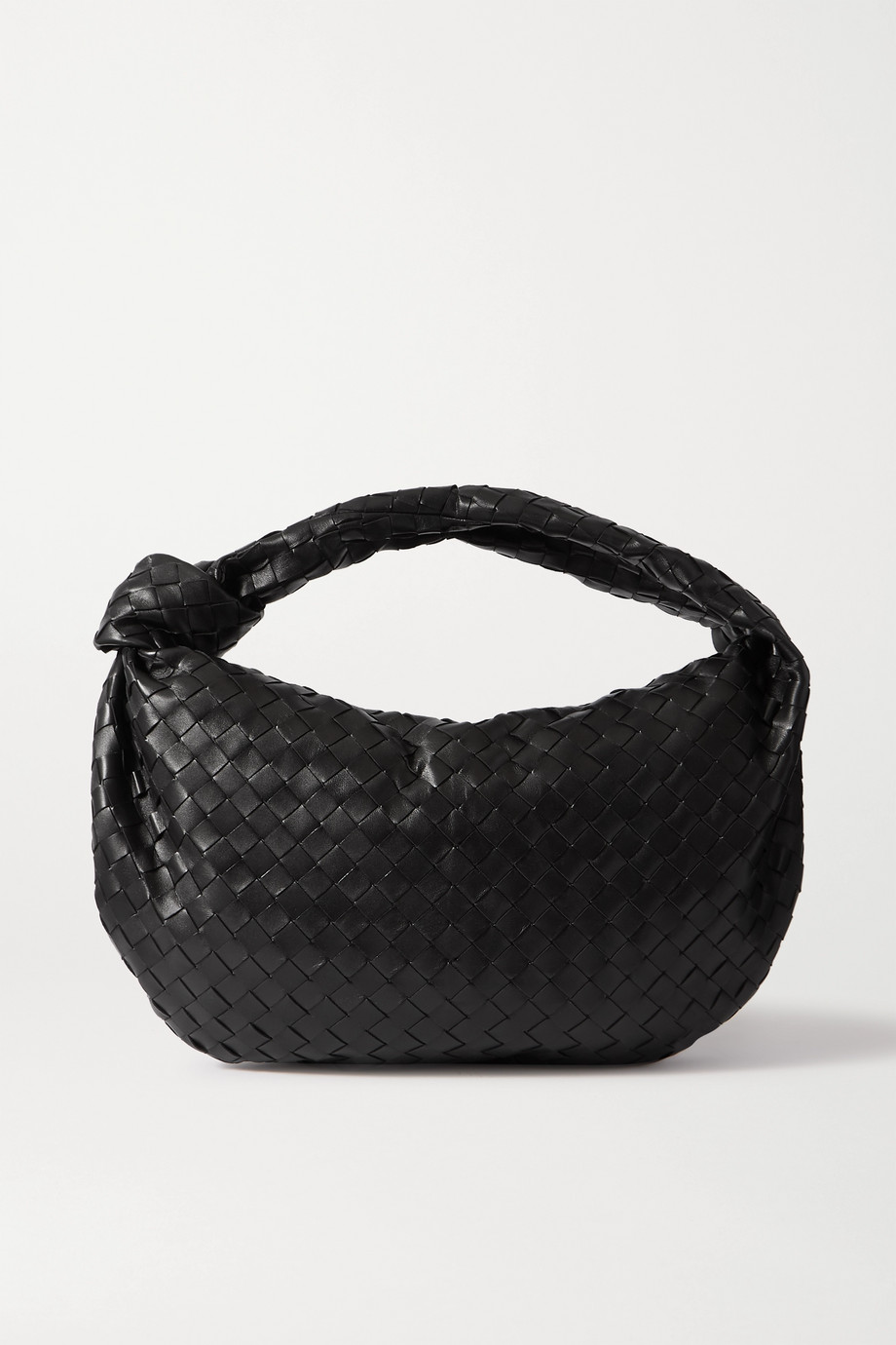 Jodie small knotted intrecciato leather tote by Bottega-Veneta, available on net-a-porter.com for $3 Hailey Baldwin Bags Exact Product