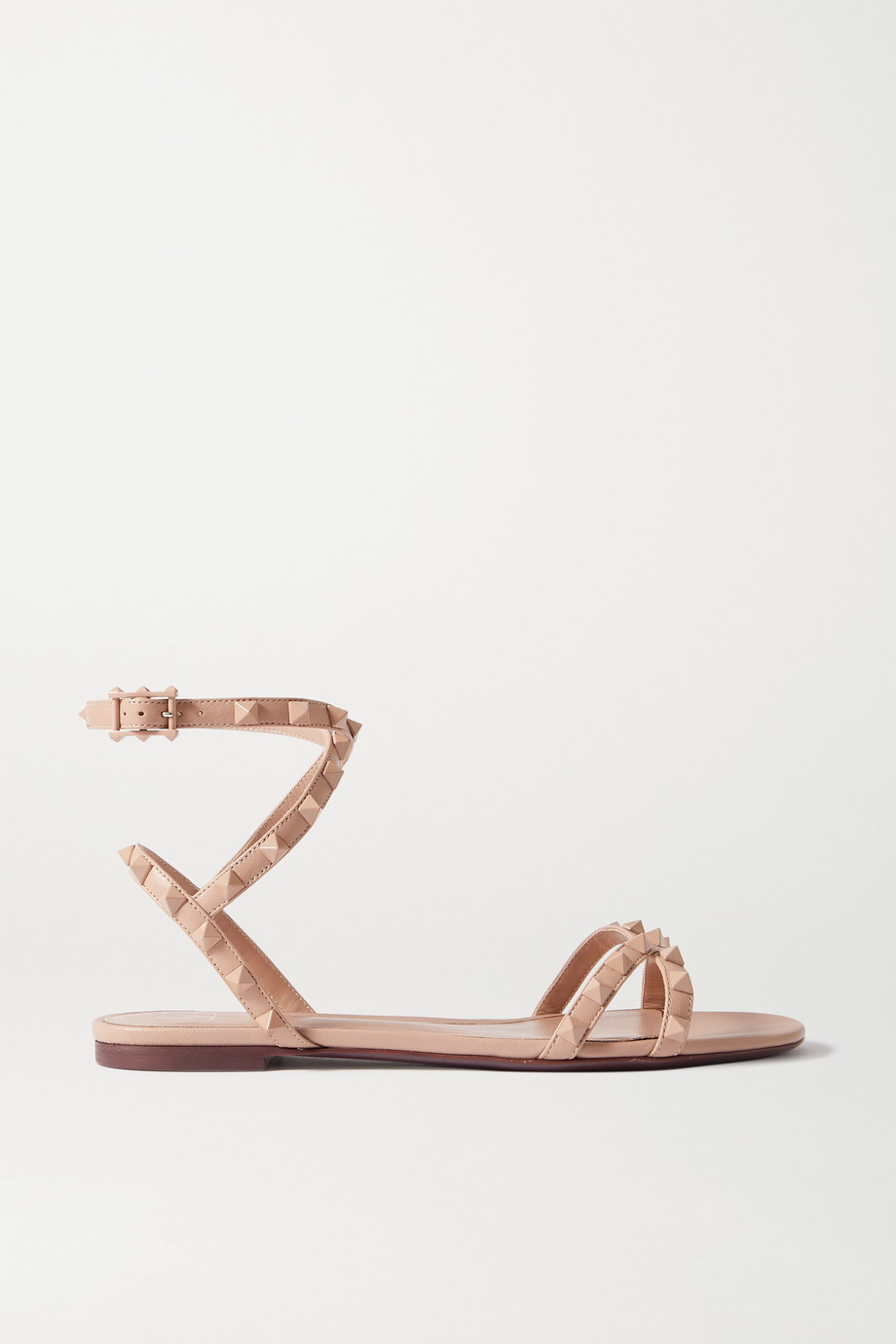 VALENTINO Valentino Garavani Rockstud Flair leather sandals