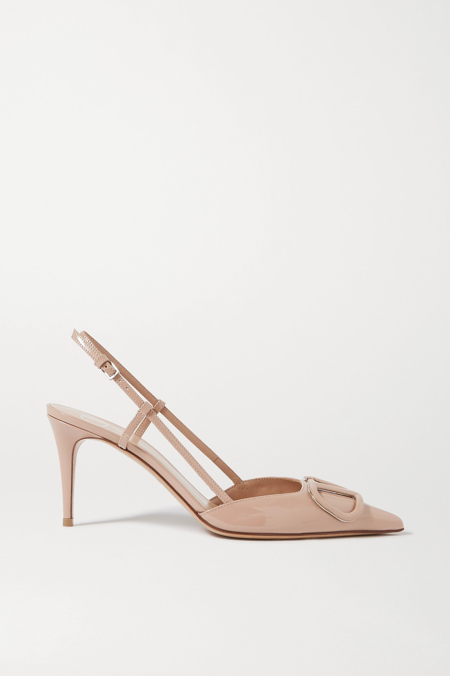 VALENTINO Valentino Garavani VLOGO 80 patent-leather pumps