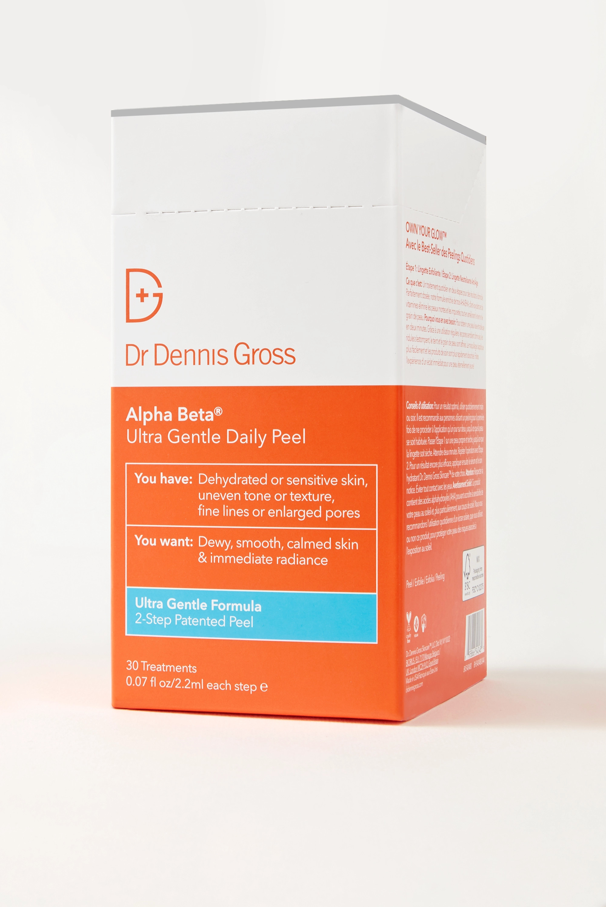 DR. DENNIS GROSS SKINCARE Alpha Beta® Ultra Gentle Daily Peel 30 Days