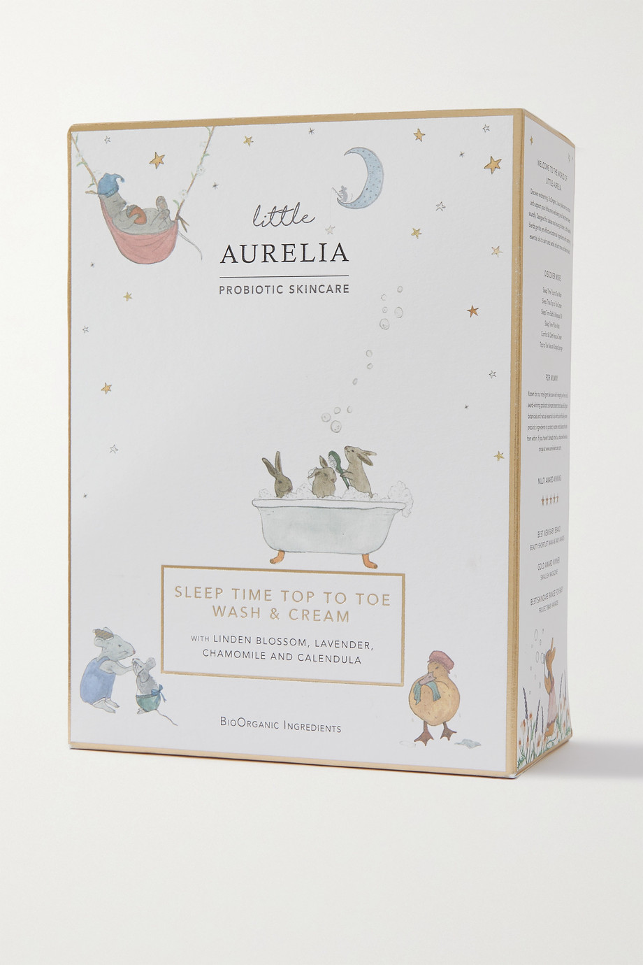 AURELIA PROBIOTIC SKINCARE + NET SUSTAIN Little Aurelia Sleep Time Top To Toe Wash & Cream, 2 x 240ml