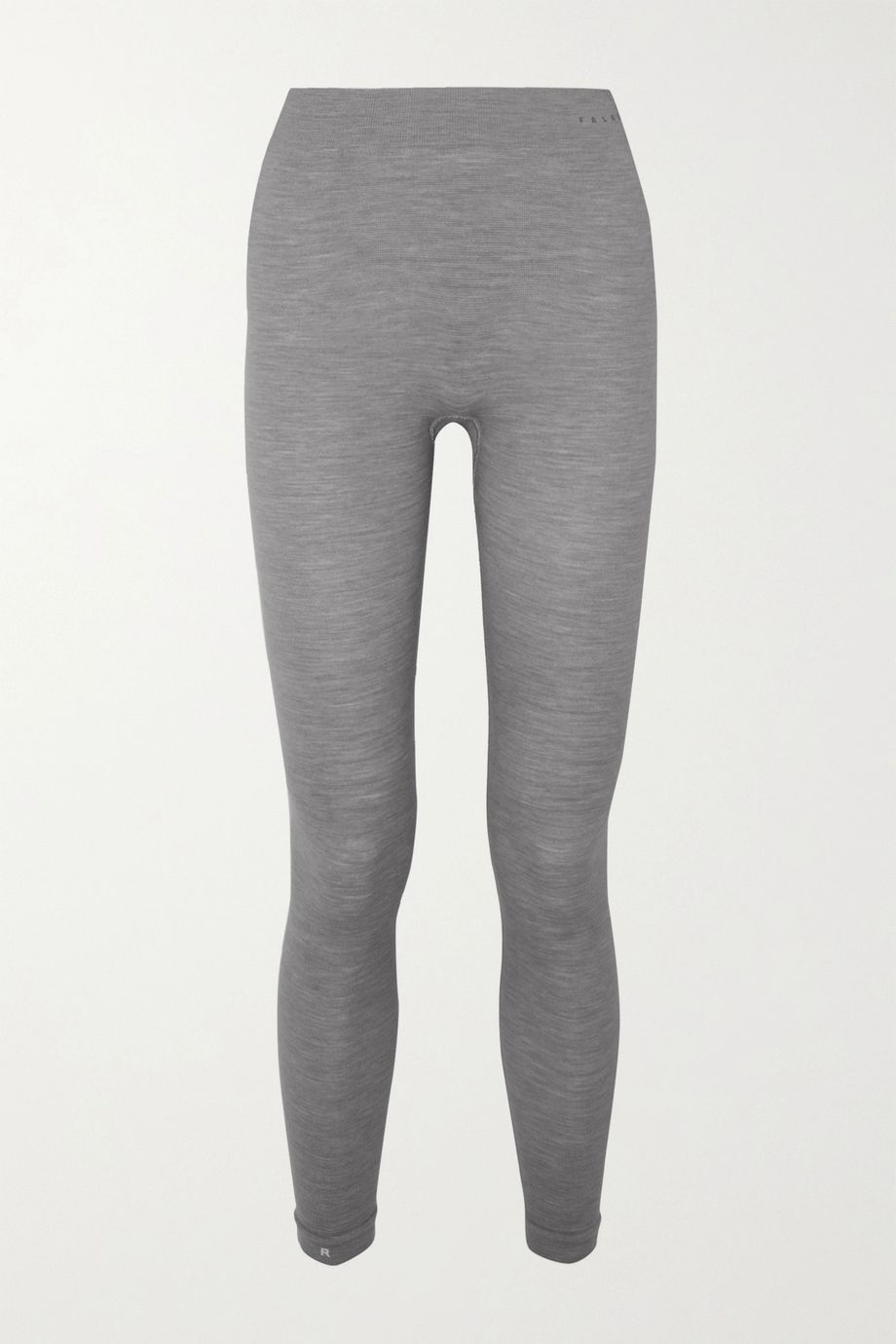 FALKE ERGONOMIC SPORT SYSTEM Paneled technical stretch wool-blend leggings