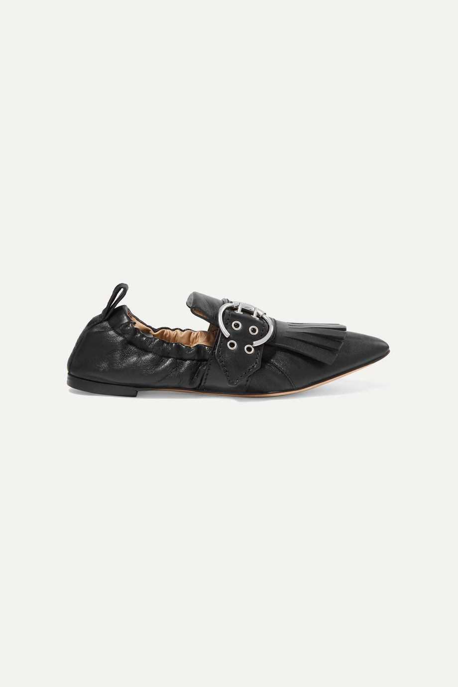 CHLOÉ Roy fringed leather loafers
