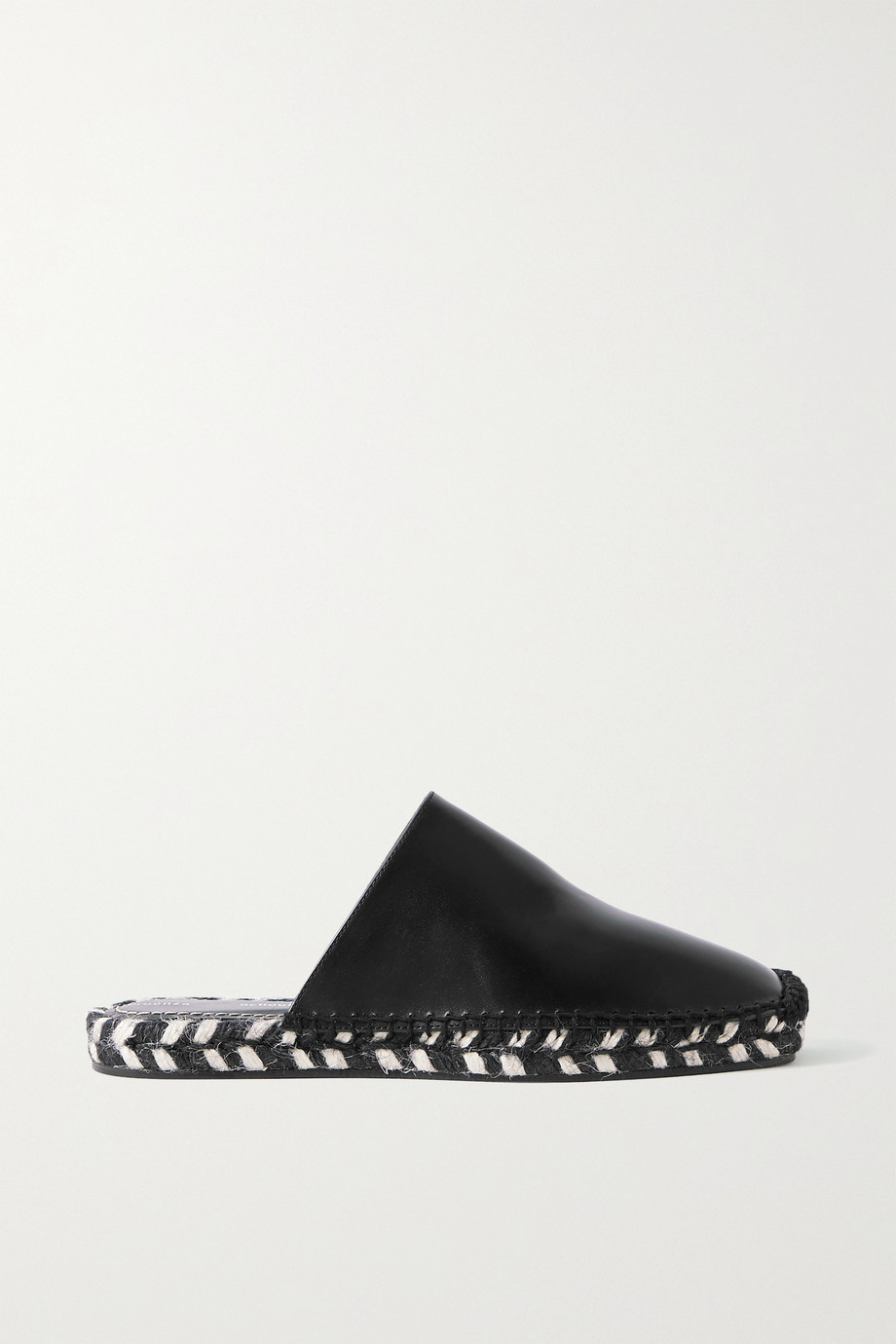 PROENZA SCHOULER Leather espadrille slippers