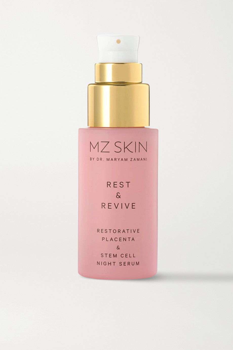 MZ SKIN Rest & Revive Restorative Placenta & Stem Cell Night Serum, 30ml