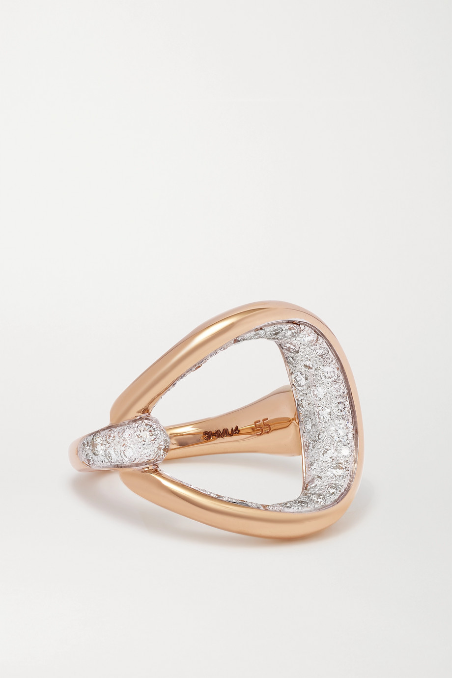 POMELLATO Fantina 18-karat rose gold diamond ring