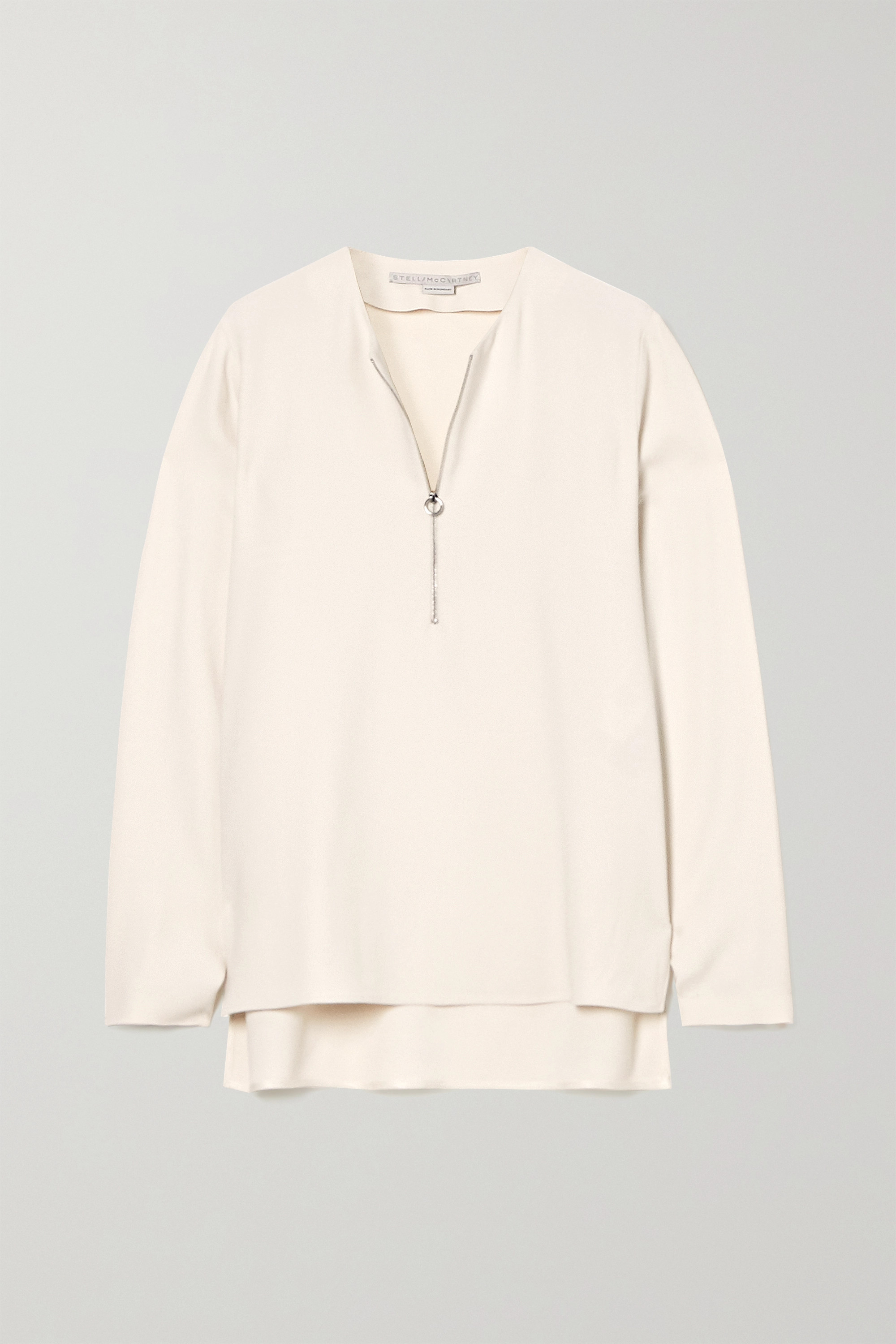STELLA MCCARTNEY + NET SUSTAIN Arlesa crepe top