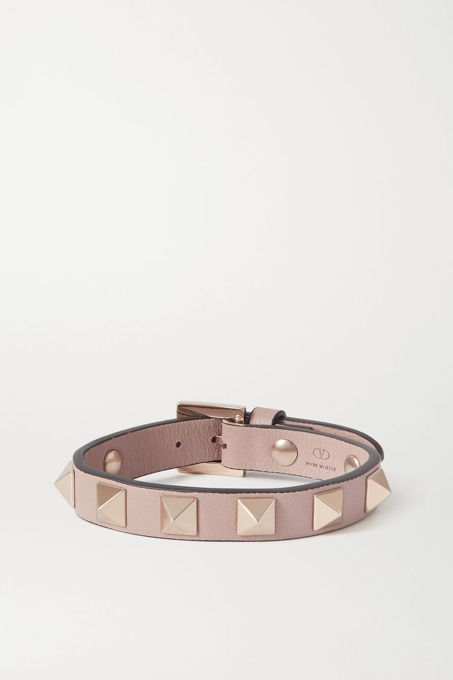 VALENTINO Valentino Garavani The Rockstud leather bracelet
