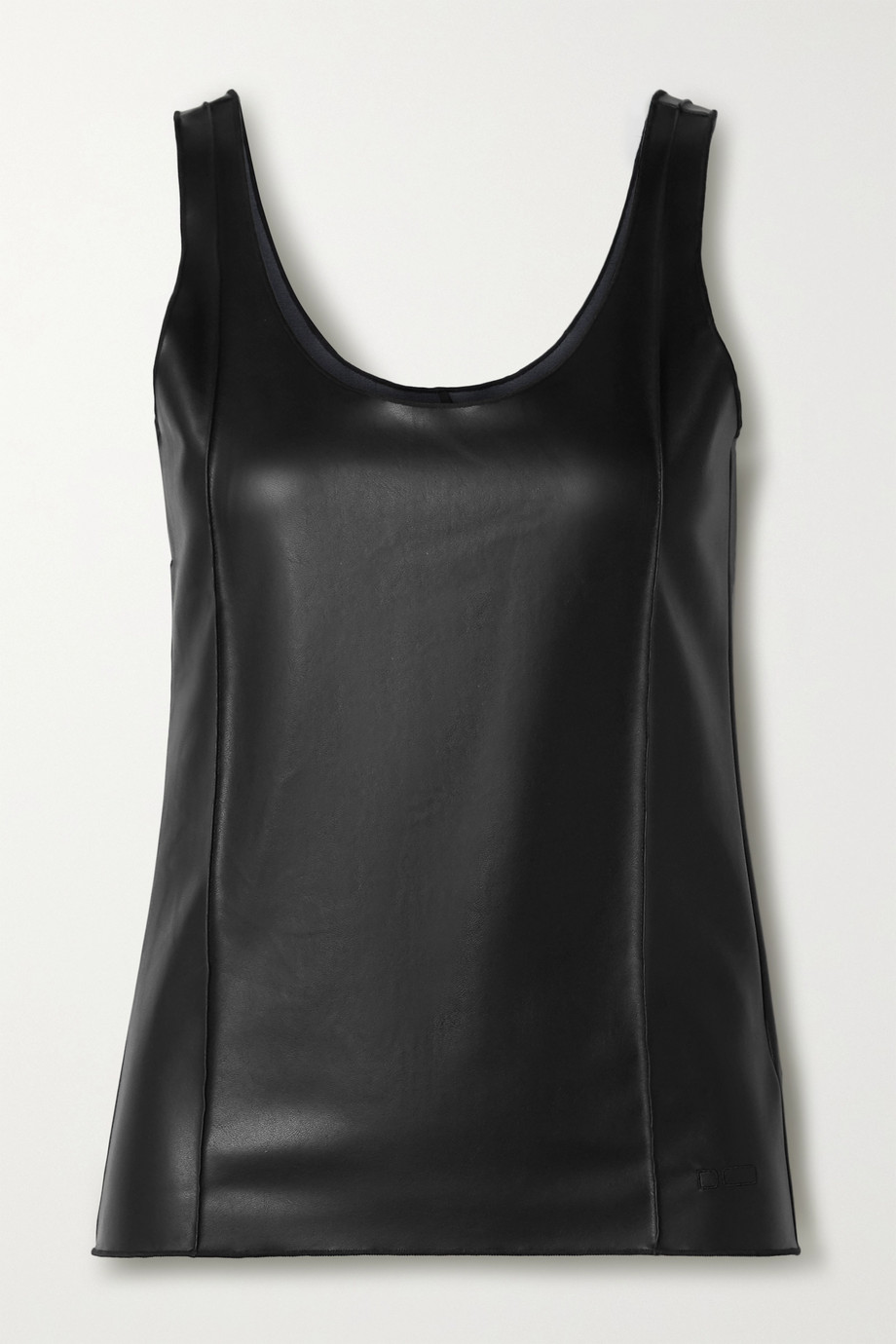 Peter Do Faux leather tank top