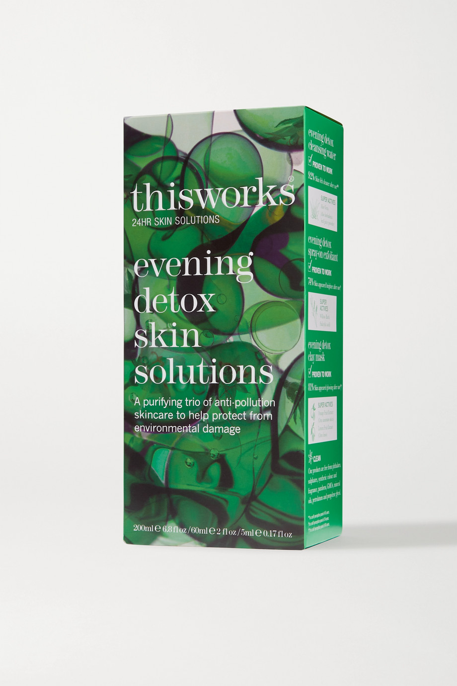 THIS WORKS Evening Detox Skin Solutions Kit