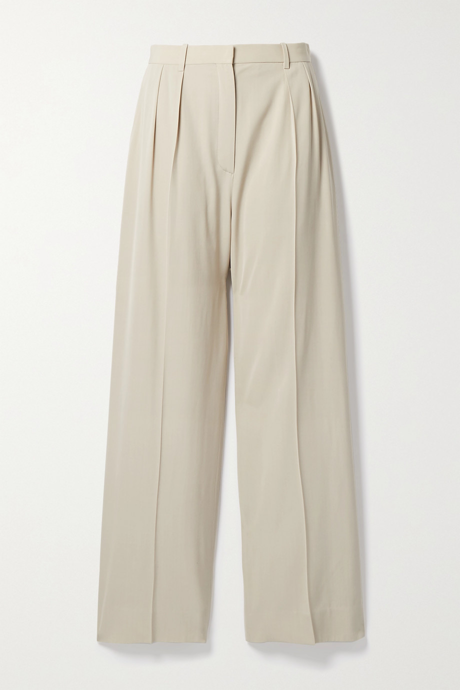 THE ROW Phoebe woven wide-leg pants