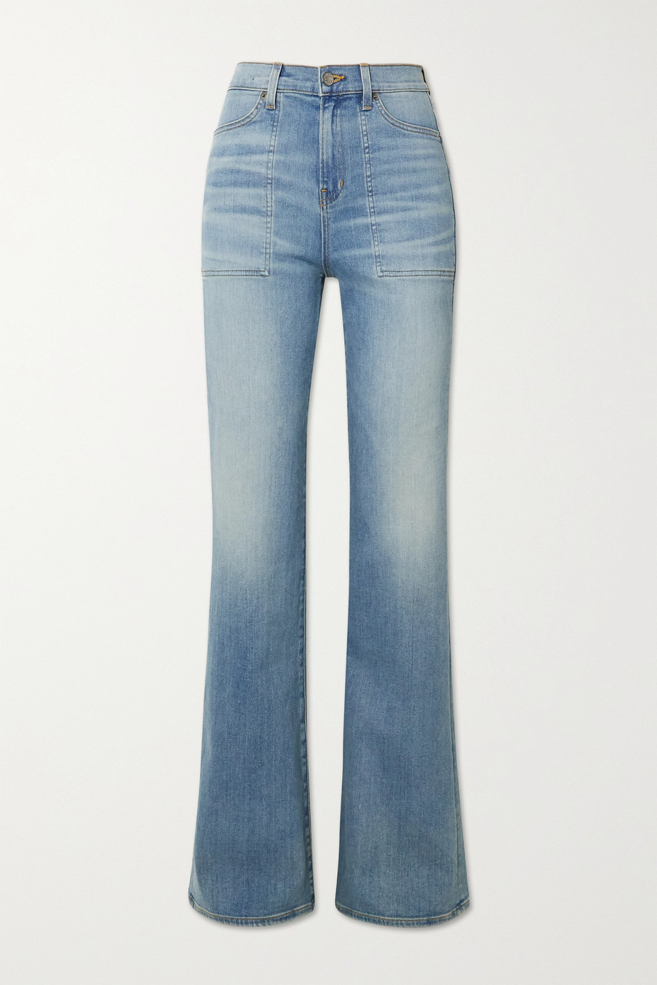 VERONICA BEARD Crosbie high-rise wide-leg jeans