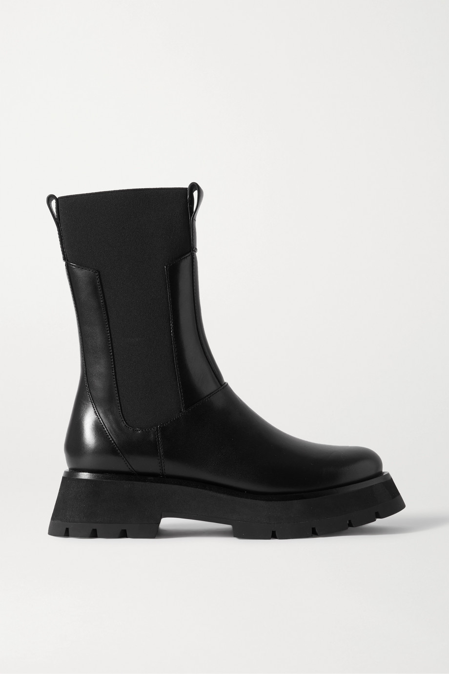3.1 PHILLIP LIM Kate leather Chelsea combat boots