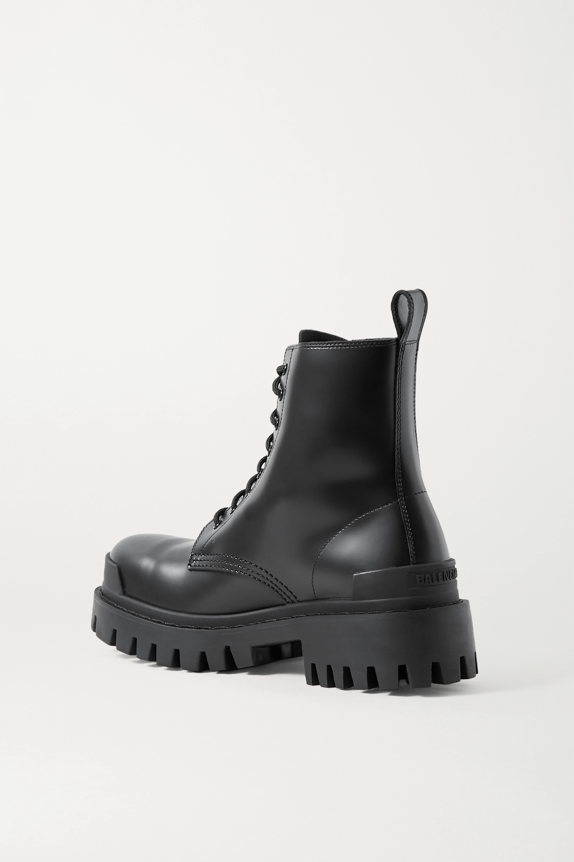 BALENCIAGA Strike matte-leather ankle boots