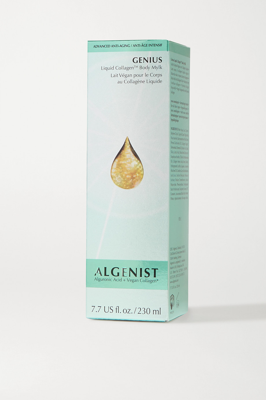 ALGENIST Genius Liquid Collagen Body Mylk, 230ml