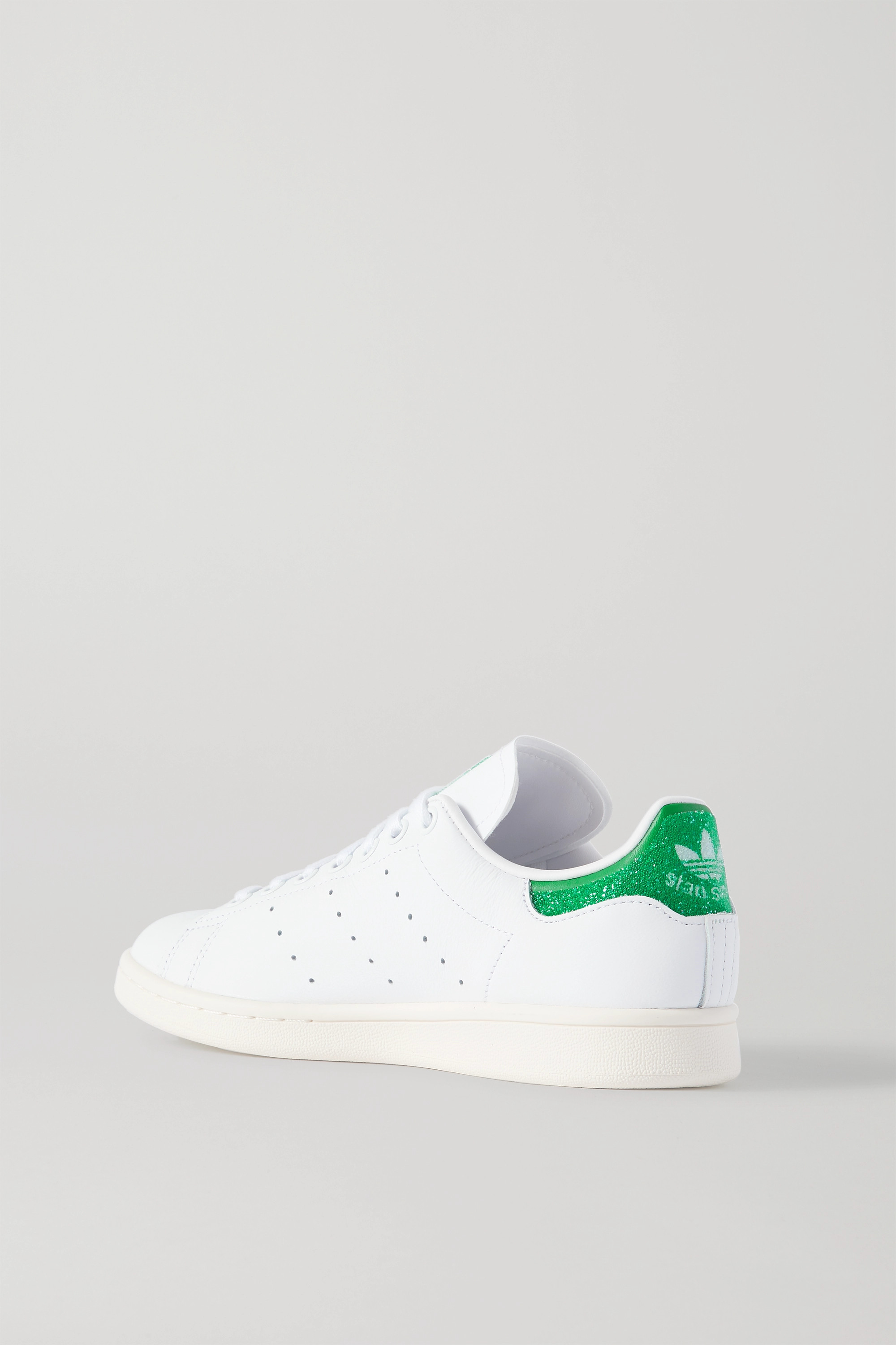 ADIDAS ORIGINALS + Swarovski Stan Smith leather sneakers