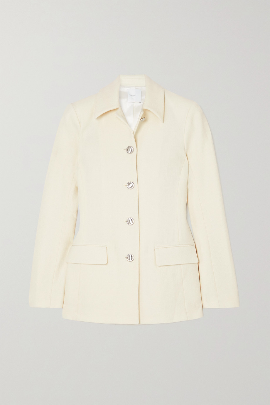 ROSETTA GETTY Wool-crepe jacket