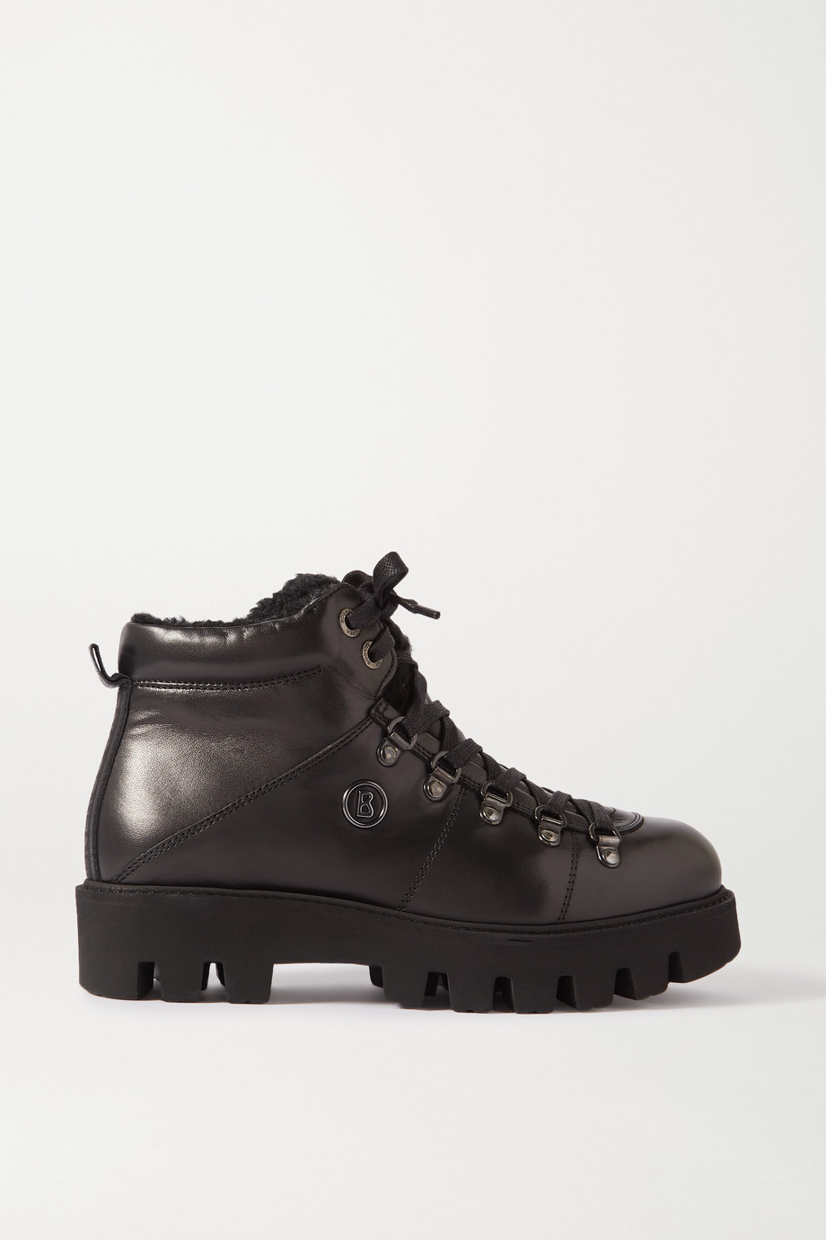 BOGNER Copenhagen shearling-lined leather ankle boots