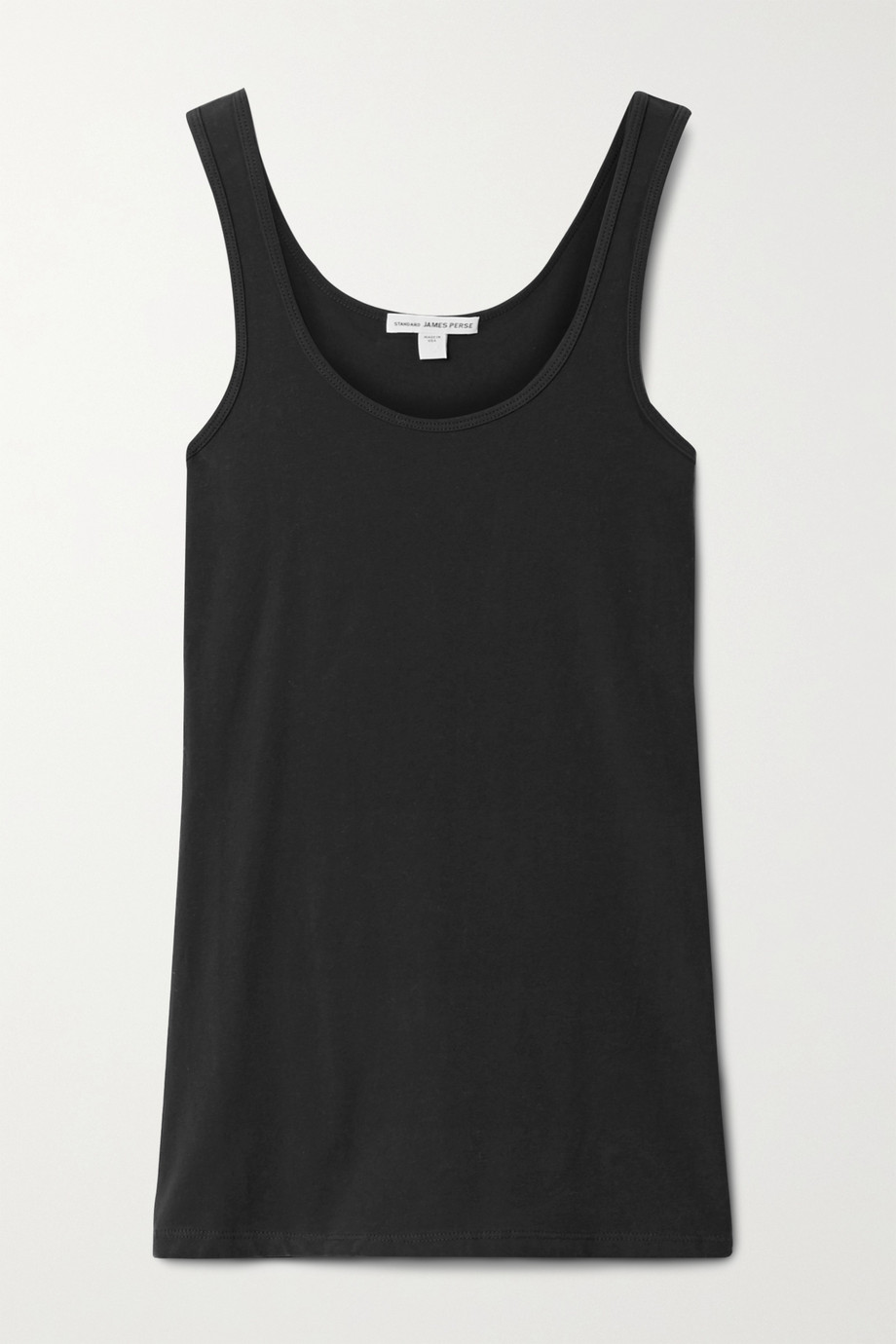 JAMES PERSE Stretch-cotton jersey tank