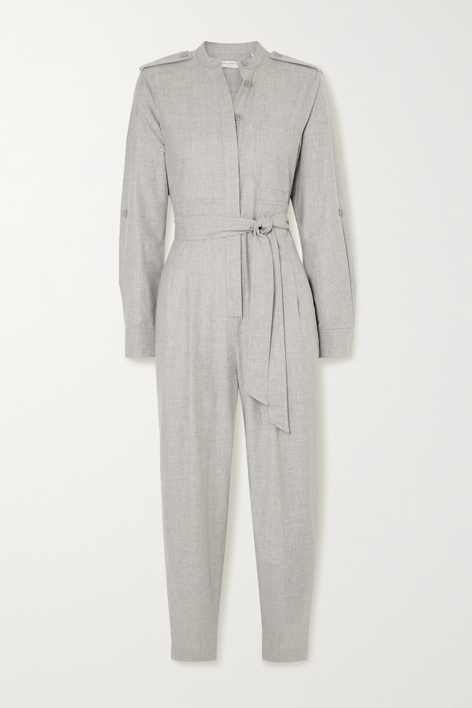 EQUIPMENT Leondrea belted woven jumpsuit