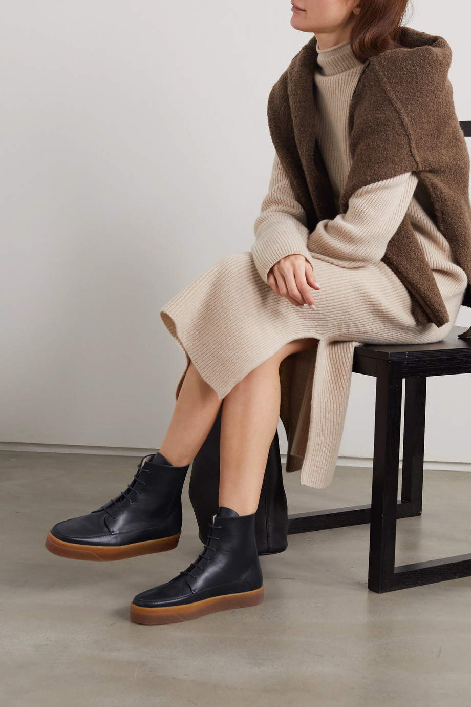 Gabriela Hearst Williams leather ankle boots