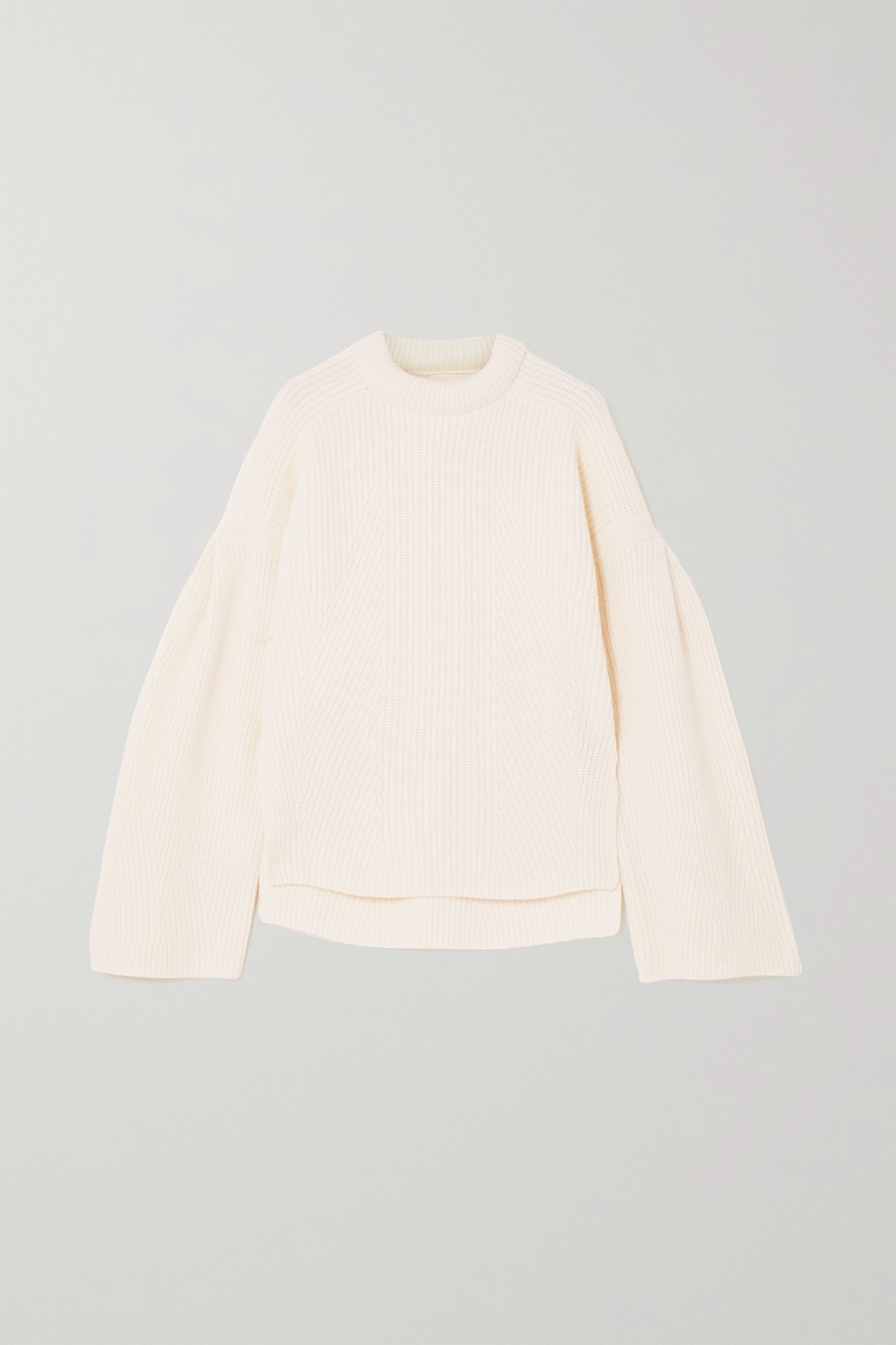 LOULOU STUDIO - Gargalo Oversized Ribbed Wool And Cashmere-blend Sweater - Ivory - large