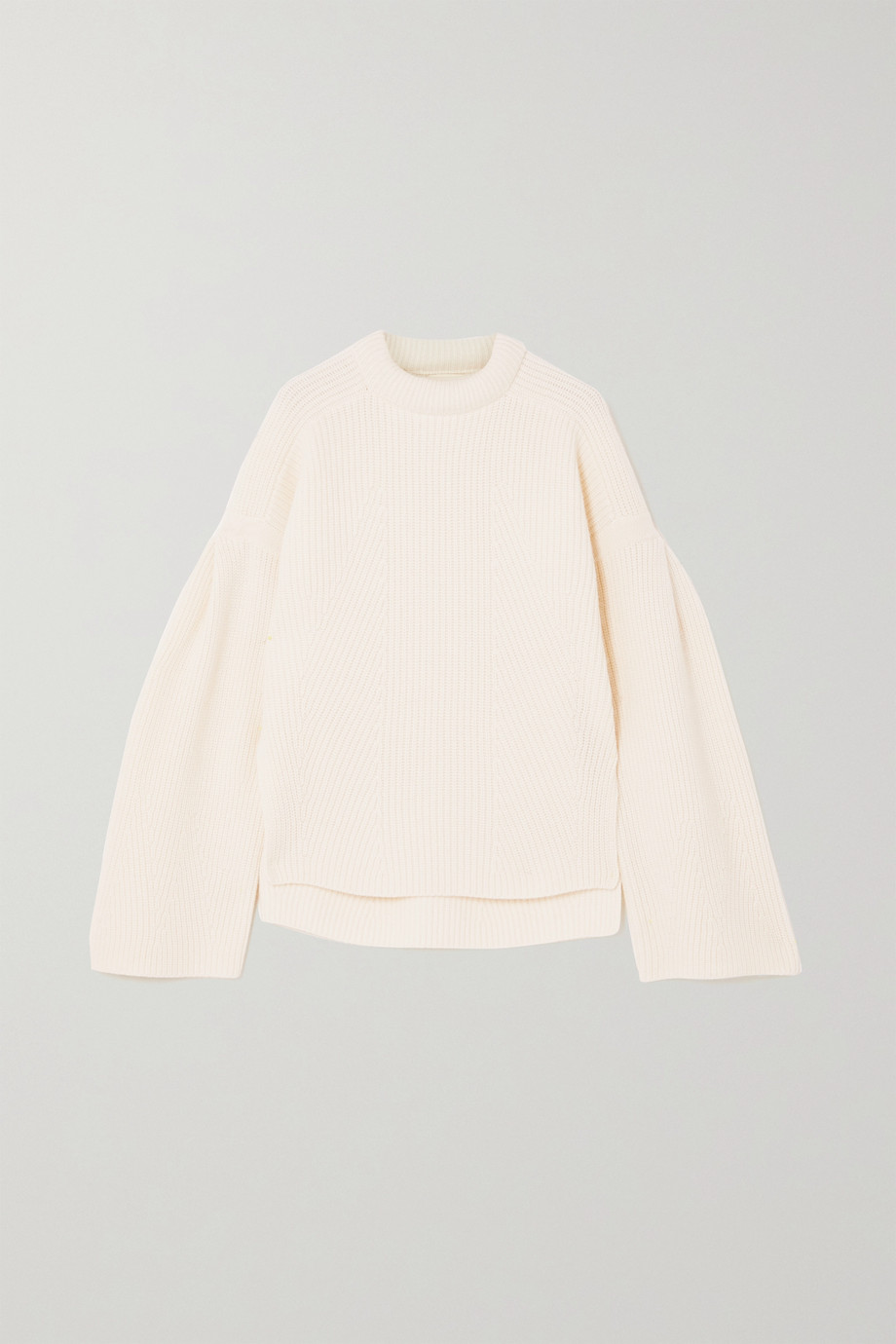 LOULOU STUDIO Gargalo oversized ribbed wool and cashmere-blend sweater