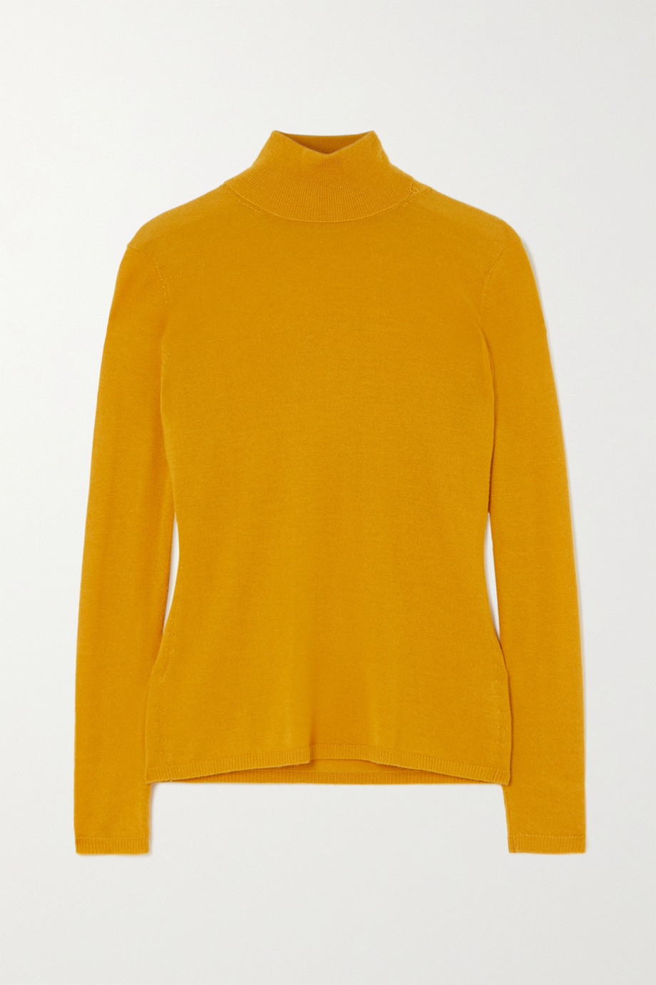 Gabriela Hearst Costa cashmere and silk-blend turtleneck sweater