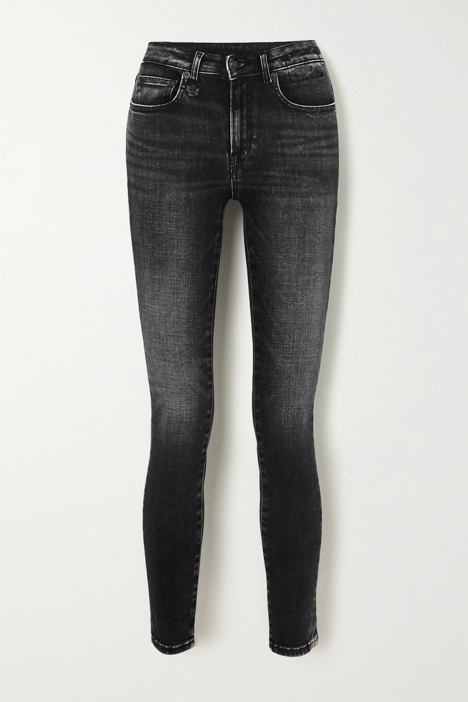 R13 Alison cropped high-rise skinny jeans