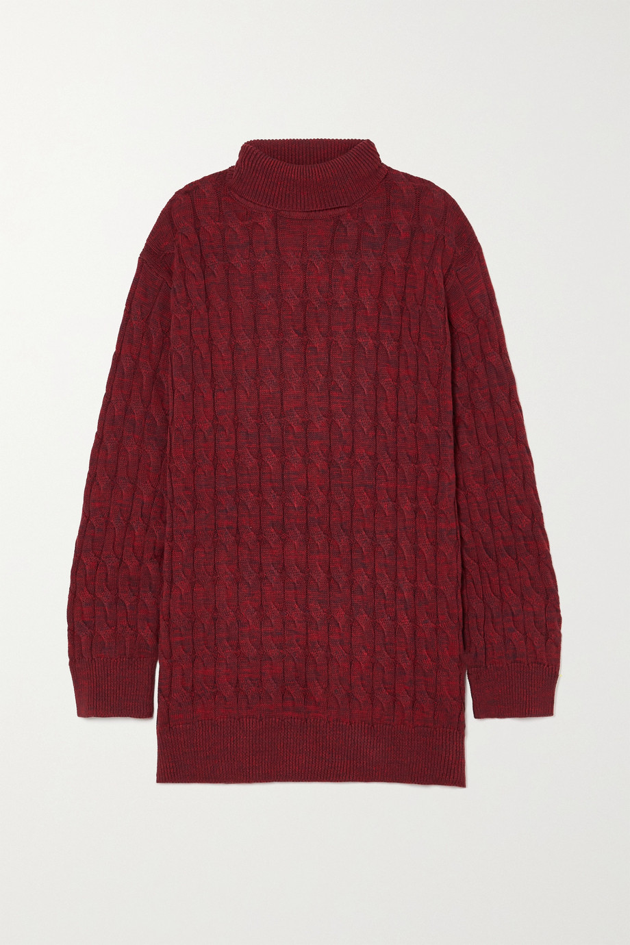 ANNA QUAN Dante cable-knit wool sweater