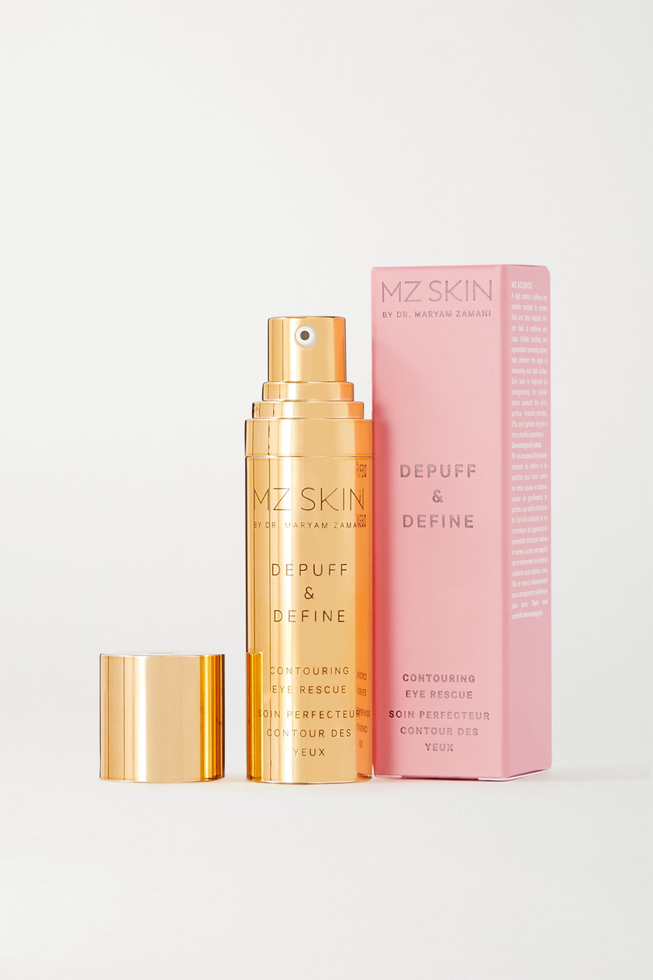 MZ SKIN Depuff & Define Contouring Eye Rescue, 15ml