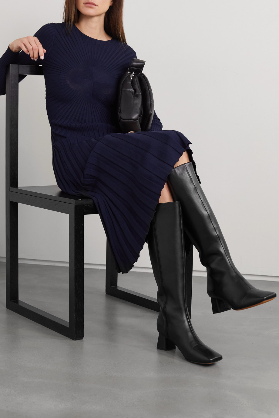 VINCE Kellen 55 leather knee boots