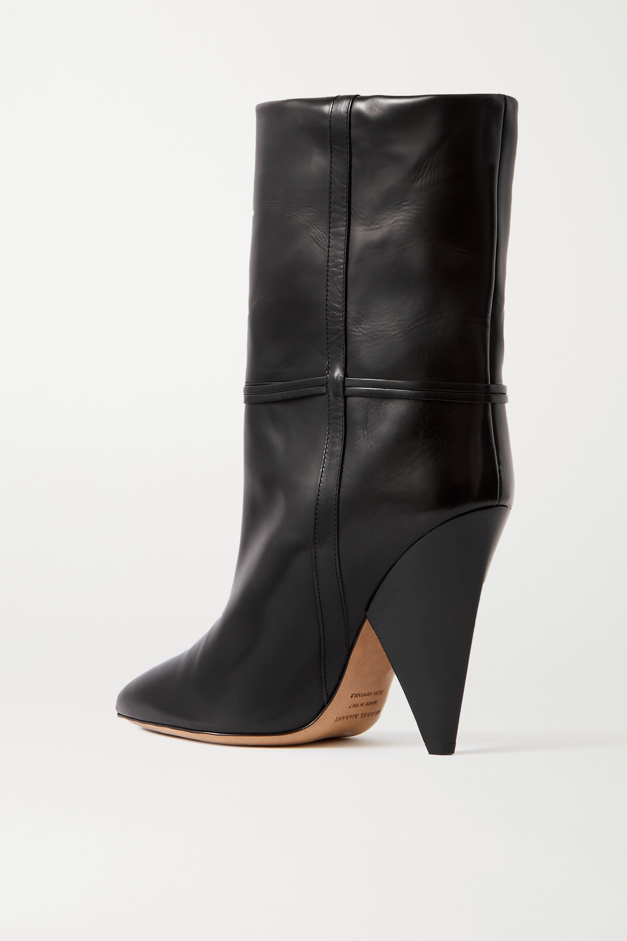 ISABEL MARANT Lunder leather ankle boots