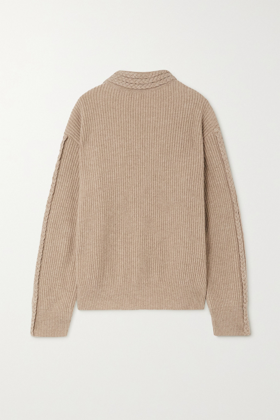 ENVELOPE1976 Zurich cable-knit merino wool and cashmere-blend sweater