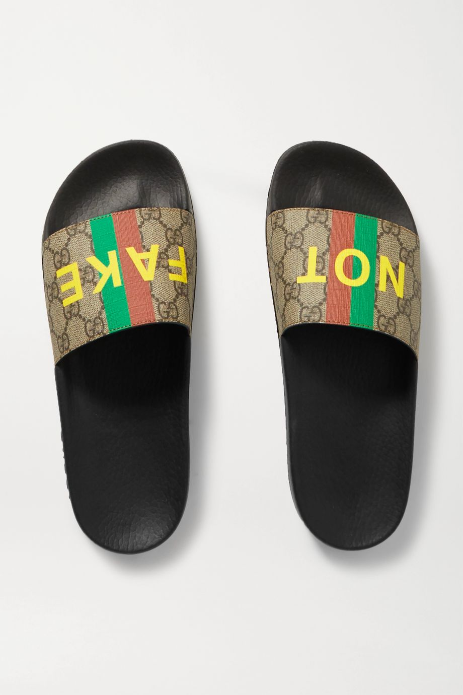 GUCCI Pursuit printed coated-canvas slides