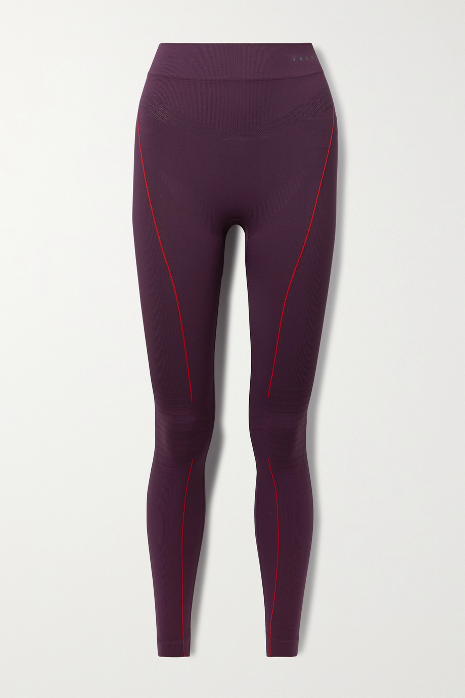 FALKE ERGONOMIC SPORT SYSTEM Stretch-knit leggings