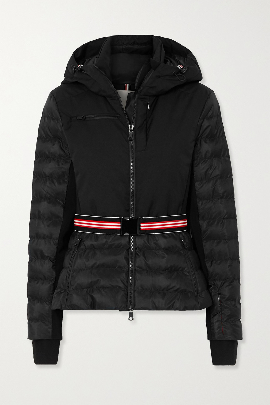 ERIN SNOW Kat ripstop-trimmed quilted padded hooded ski jacket