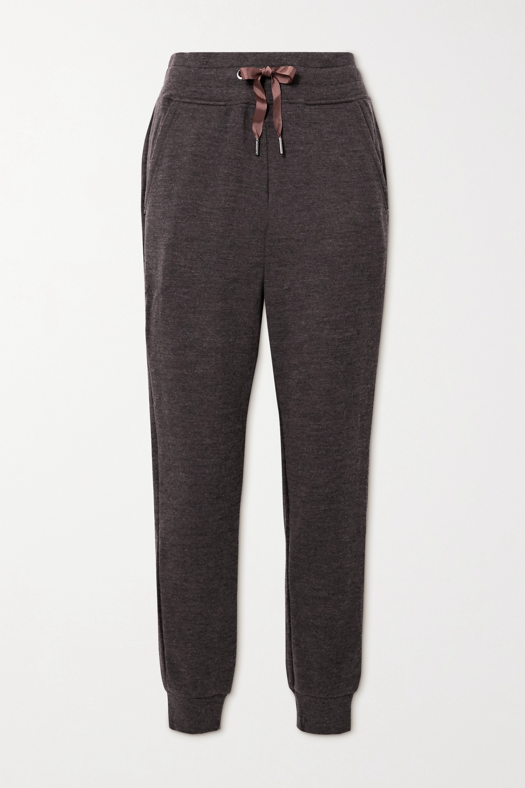WE NORWEGIANS Tind merino wool track pants
