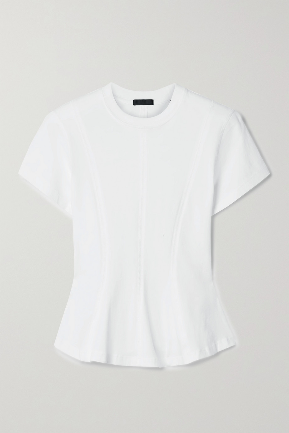 ATM ANTHONY THOMAS MELILLO Cotton-jersey peplum T-shirt