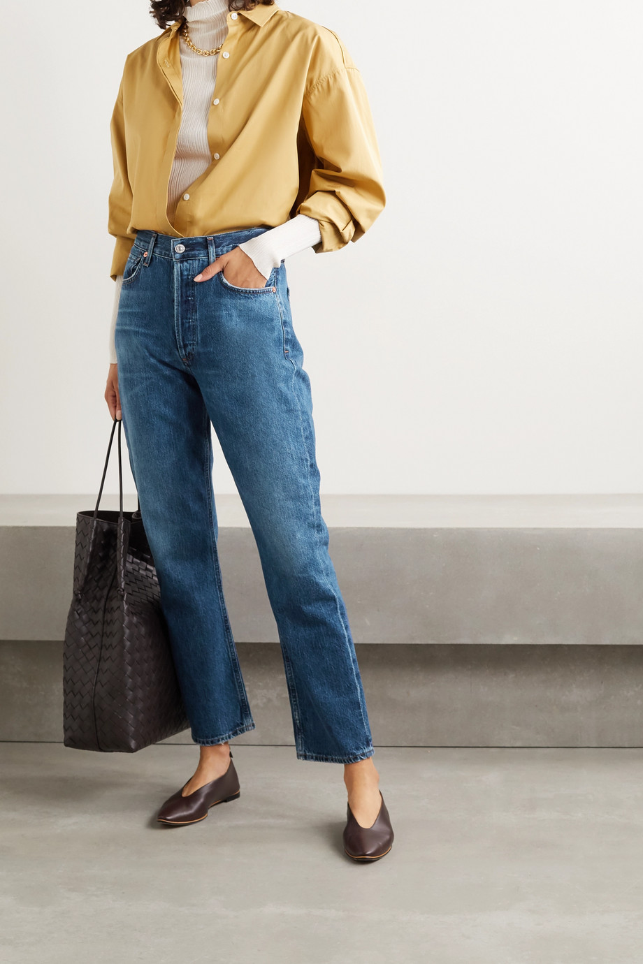 Citizens of Humanity Charlotte high-rise straight-leg jeans