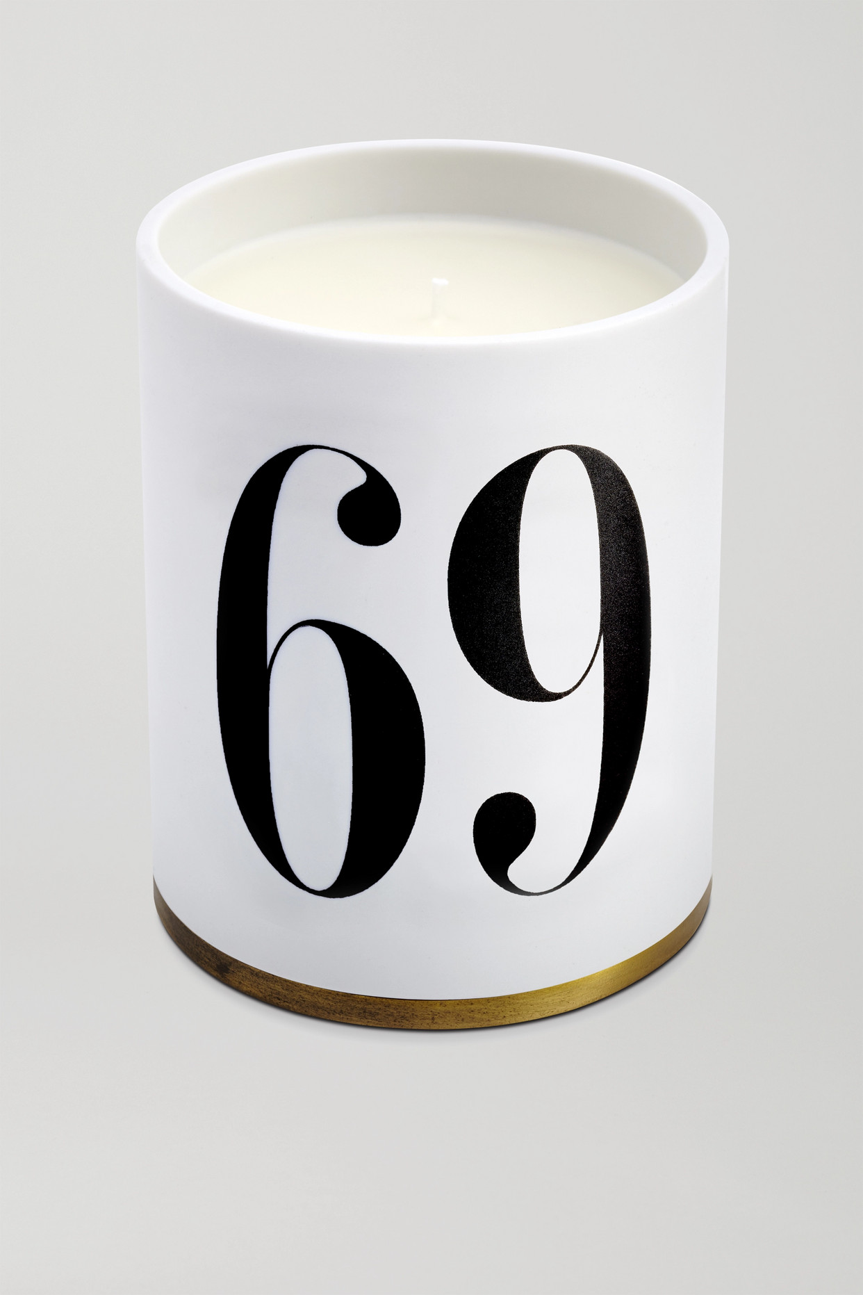L'OBJET - Oh Mon Dieu No.69 Scented Candle, 350g - White - one size